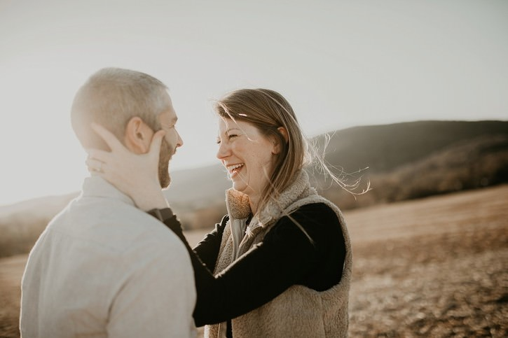 charlottesville va engagement photographer