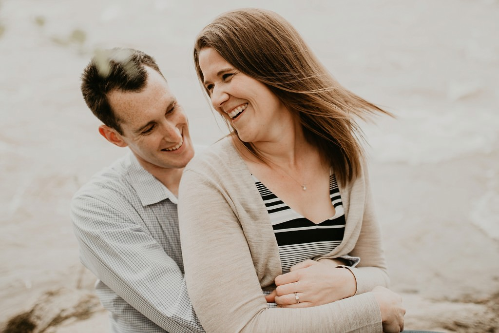 Belle Isle and West Ave Richmond VA Engagement Photographer