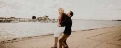 Newport Rhode Island Engagement Photographer