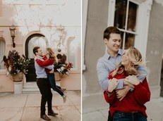Battery Park Charleston SC Engagement Photography
