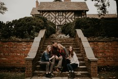 Agecroft Hall Richmond VA Family Photos