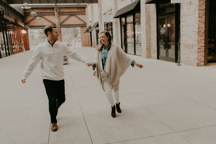 Ponce Market Atlanta GA Engagement Photographer