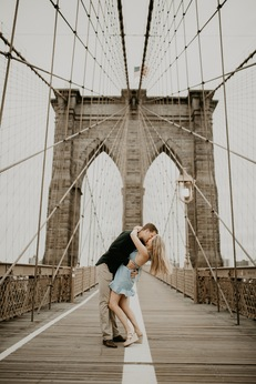 Brooklyn Bridge NYC Engagement Photography